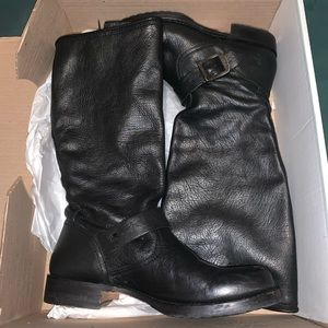 FRYE Veronica Slouch boots with buckle
